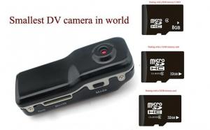 Cu cea mai mica camera video spion, la doar 139 RON in loc de 279 RON