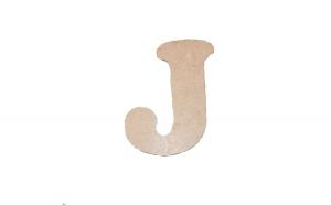 Litera J Mdf 120x100x3 mm
