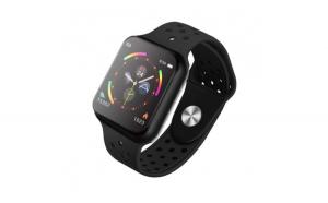 Smartwatch Techstar® Sport F9 Negru Waterproof IP67 Functie Bluetooth  Ecran 1.3 inch Conectare Android si IoS