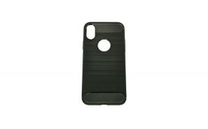 Husa Apple Iphone X Tpu, carbon, Negru