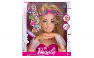Cap de papusa. model Barbie, 27 cm, multicolor