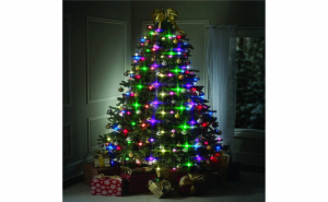 Instalatie luminoasa pentru brad de Craciun, 48 LED, jocuri lumini Tree Dazzler