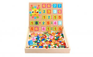 Joc Montessori 2in1 Matematic si Mozaic