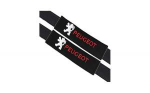 Set 2 Huse pentru centura de siguranta PEUGEOT, premium