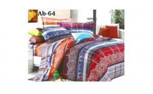 Pachet Bumbac satinat - 4 lenjerii de pat cu 4 piese, calitate garantata 100%, la 229 RON in loc de 699 RON