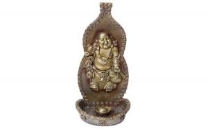 Budha suport pentru bete, ornament perete din rasina