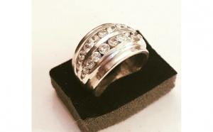 Inel din Argint cu Zirconii - masura 11