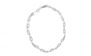 Bratara Argint 925 Unisex cu Zale Tip Lacat