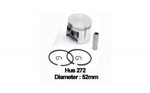 Piston complet Husqvarna 272 (52mm) -