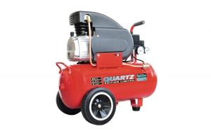 Compresor aer Quartz, 24 l, 2 cp, 8 bar,
