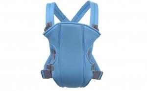 Marsupiu multifunctional pentru bebelusi si copii, pana la 15 kg, albastru