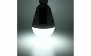 Bec led 12w cu incarcare solara + dc 5v