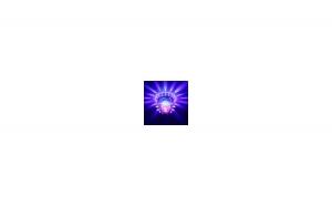 LAMPA ROTATIVA SUNFLOWER RGB LED 15W