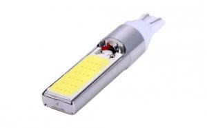 BEC pozitie T10 COB, 24 CHIP, 12V, 6W, lumina alba - pret/set