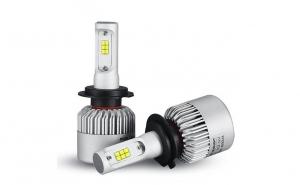 Becuri LED S2 Lumileds cu chip Philips H7 6000 lumeni