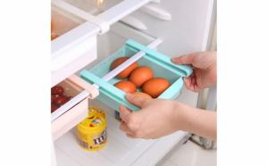 Set 4 cutii depozitare pentru frigider