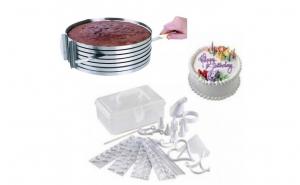 Feliator tort + kit decorare 100 piese
