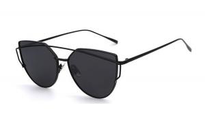 Ochelari de soare Ochi de Pisica Negru - Negru