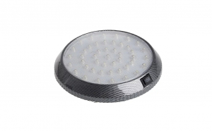 Plafoniera led cu buton on off alb 6000k