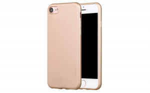 Husa protectie, Silicon, Apple iPhone XR, Gold