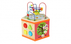 Cub educativ bebe Montessori 6 in 1