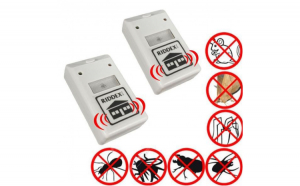 Set 2 aparate Riddex anti-insecte si