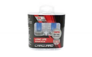 CARGUARD - Set de 2 becuri Halogen H4 + 100% Intensitate - LONG LIFE GLZ-BHA023