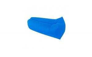 Saltea gonflabila Cloud Lounger, umflare fara pompa, albastru