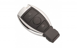 Cheie Auto Completa Techstar® Mercedes A  B  C  E  G  M  R  S Class  Sprinter  Viano  Vito  2 Butoane  BGA  433Mhz