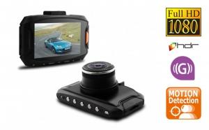 "Camera Auto DVR G90, procesor Ambarella A7, rezolutie Super HD 1296P, 60fps, display 2.7"" LCD, G-sensor, la 749 RON in loc de 1500 RON"
