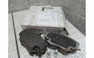 Set placute frana fata Dacia Logan 1,4 Originale 410602192R