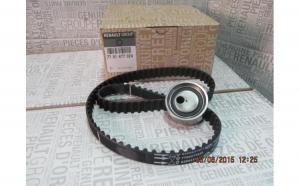 Kit distributie Dacia Logan Sandero MCV 1.4 si 1.6 Mpi ORIGINAL 7701477024