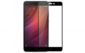 Folie sticla securizata 5D Full Glue Xiaomi Redmi Note 4  Negru