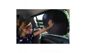 Parasolar auto cu prindere