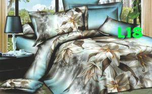 Lenjerie de pat 3D, diverse modele, la 160 RON in loc de 400 RON