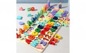 Joc educativ Montessori 5 in 1