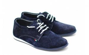 Pantofi barbati sport - casual din piele naturala intoarsa - Made in Romania, la doar 148 RON in loc de 299 RON