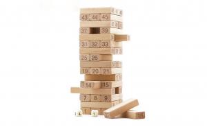 Turnul instabil 54 de piese