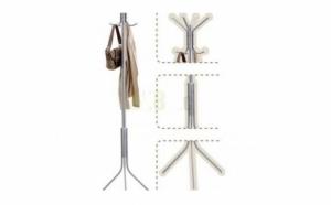 Coat Hanger-Cuier metalic argintiu tip pom, la doar 105 RON redus de la 249 RON