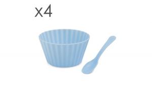 Pahar de îngheţată cu lingură - 4