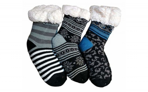 Ciorapi, botosei Imblaniti - pentru copii - Model Winter Season