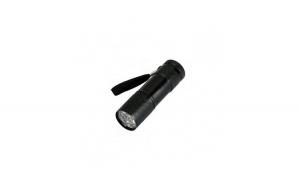 Lanterna cu lumina UV pentru detectarea banilor falsi, 8.8 cm, negru