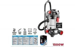 Aspirator atelier cu sistem vacuum 1500W