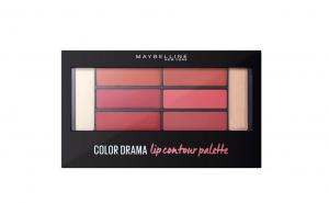 Paleta ruj Maybelline New York Color Drama Lip Contour Palette, 02 Blushed Bombshell, 4 g