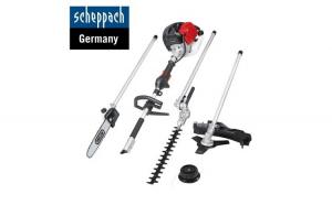 Set de unelte pentru gradinarit 4 in 1 MFH5200 4P 1.3 kW   Scheppach 5904804903