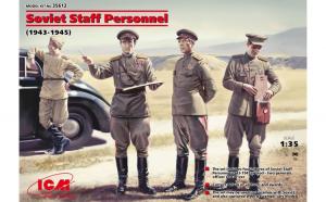 1:35 Soviet Staff Personnel (1939-1945) (4 figures) 1:35