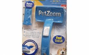 Pet Zoom - perie de animale pentru periat si masaj