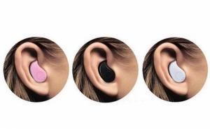 Casca Bluetooth discreta cu microfon incorporat