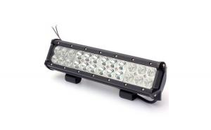 Ledbar 72w+Kit cabluri cu releu 7200 lumeni, 12/24 v spot si flood
