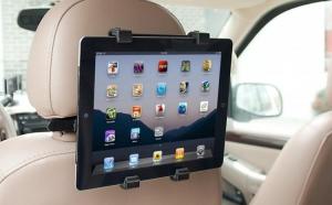Suport auto universal pentru tableta cu prindere pe tetiera